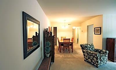 Living Room, Richmond Hills Apartments, 1