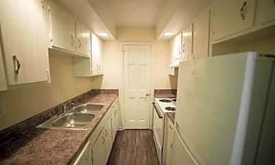 Kitchen, Garden Apartments, 0