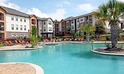 Pool, The Fountains Of Conroe, 1