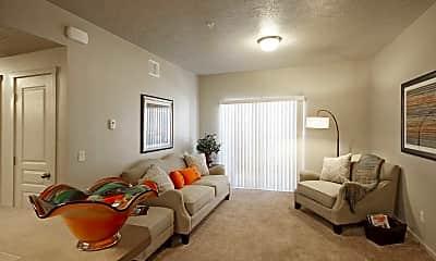 Living Room, Aspen Creek Apartments, 1