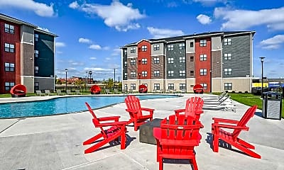 Pool, Monarch 716 - Per Bed Leases, 0