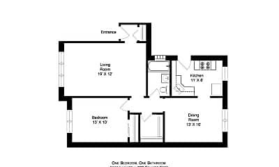 Building, 5502 N Linder Ave, 1