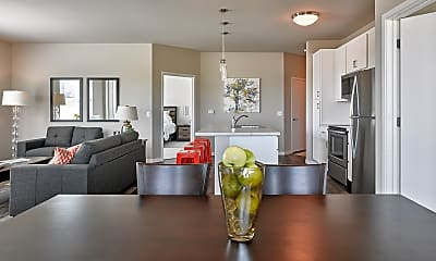 Dining Room, Tralee Apartments, 2