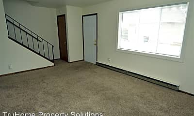 Living Room, Quiet Side by Side Duplex, 1