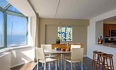 Dining Room, Avalon Towers, 1
