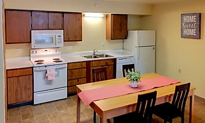 Kitchen, Nittany Commons of Penn State, 1