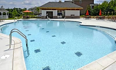 Pool, Claremont On The Square, 1