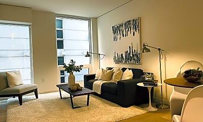 Living Room, 450 S Main St, Unit , Seattle, Washington, 98104, 0