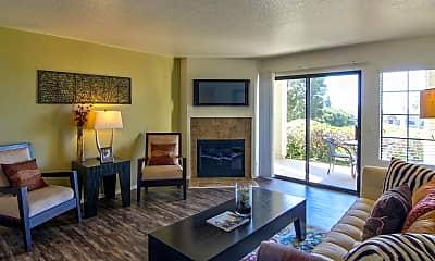 Living Room, Seagate Condominiums, 1
