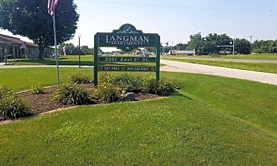 Langman Apartments, 1