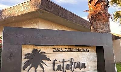 Community Signage, 73625 Catalina Way, 1