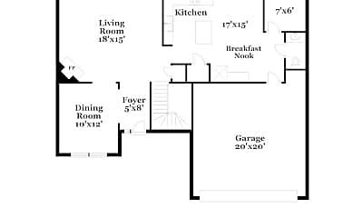 Building, 4900 Heatherfield Way, 1