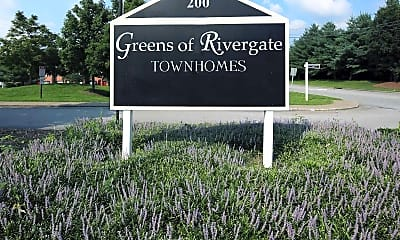 Community Signage, Greens Of Rivergate, 2