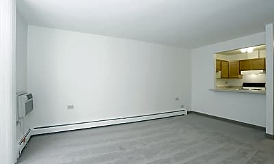 Living Room, Village Grove Apartments, 1