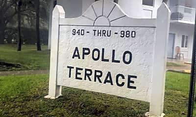 Apollo Terrace, 1