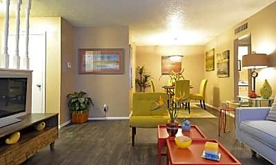 Living Room, The Ridge at Southcross, 0