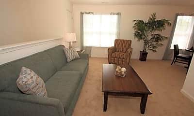 Living Room, King's Ridge Apartments, 1