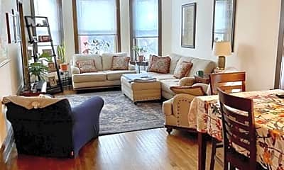 Living Room, 2558 W Walton St, 0
