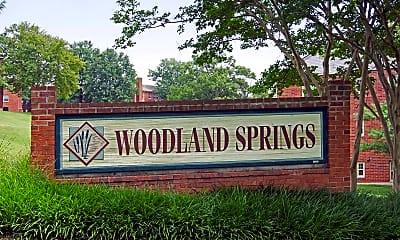 Community Signage, Woodland Springs, 2