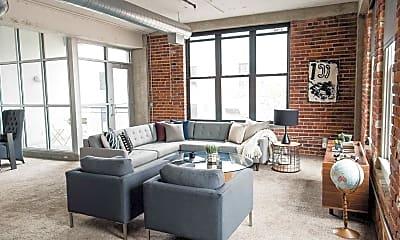 Living Room, Joslyn Lofts, 1