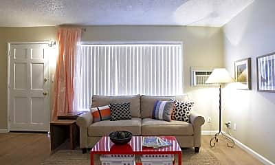 Living Room, Las Brisas Apartments, 0