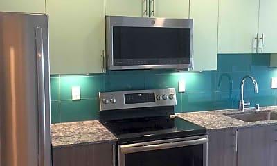 Kitchen, Mira Bellevue Apartments, 1