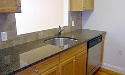 Kitchen, 100 Park Ave, 1