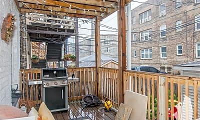 Patio / Deck, 2061 W Birchwood Ave. 3, 2
