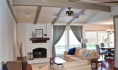 Living Room, 15706 Havenrock Cir, 1