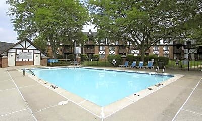 Pool, Swiss Valley Apartments, 2
