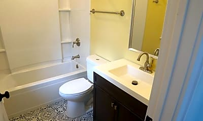 Bathroom, 219 Winchester Ave 3, 2