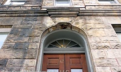 Building, 12 E Biddle St, 1