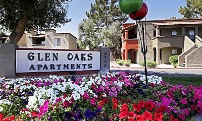 Community Signage, Glen Oaks, 2