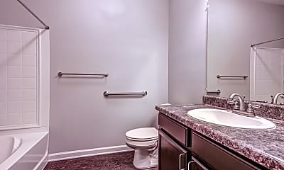 Bathroom, River Park Apartments, 2