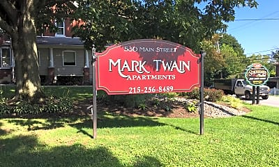 Mark Twain Apartments, 1