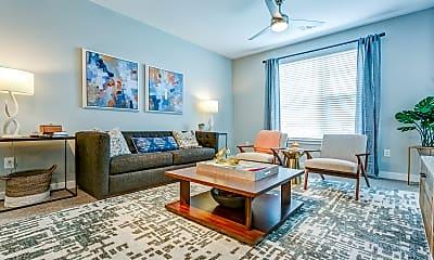 Living Room, Flats at 540, 1