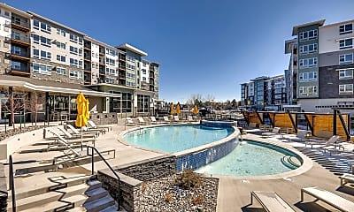 Pool, Highline Pointe Apartments, 1