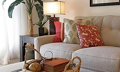 Living Room, Crest at Cooper Townhomes, 0