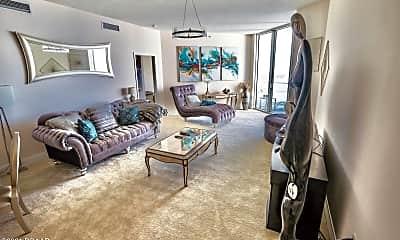 Living Room, 241 Riverside Dr 2608, 1