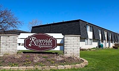 Community Signage, Riverside Village, 0
