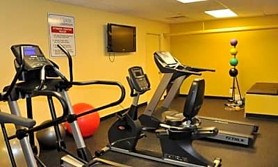 Fitness Weight Room, Village South Apartments, 2