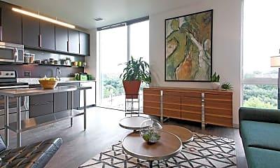 Living Room, Belay Apartments, 1