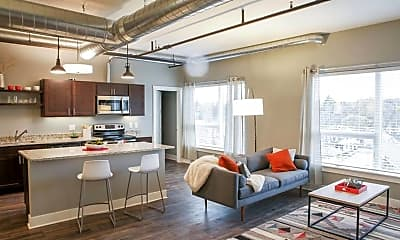 Living Room, Lofts on Michigan, 0