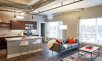 Living Room, Lofts on Michigan, 0