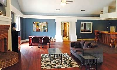 Living Room, Arbor Park Apartments, 1