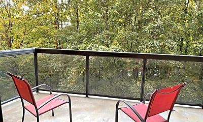Patio / Deck, 8370 Greensboro Dr 306, 2