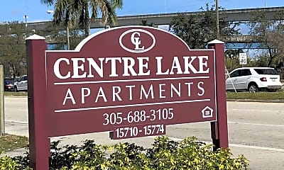 Community Signage, Centre Lake, 0