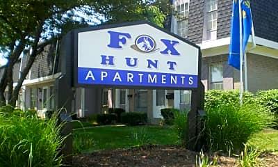 Building, Fox Hunt, 1