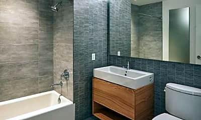 Bathroom, 600 W 58th St, 2