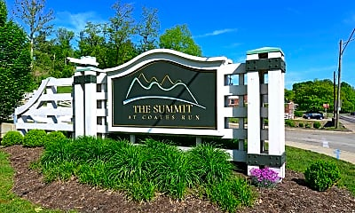 Community Signage, The Summit at Coates Run, 2